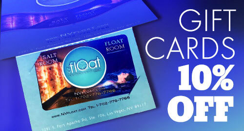 NVFloat Gift Cards!
